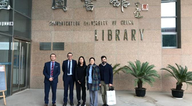 La Universidad de Murcia renueva el convenio con la Universidad de Comunicación de China
