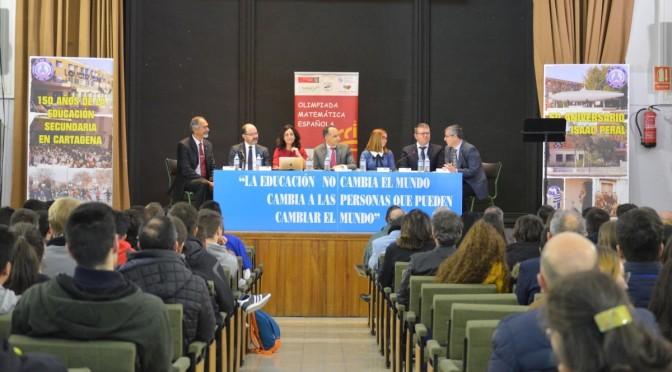 Más de 200 alumnos de la Región compiten en la LV edición de la Olimpiada Matemática