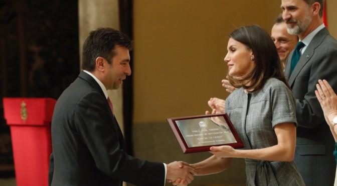 Los Reyes entregan el Premio Nacional de Investigación al catedrático de la UMU Pablo Artal