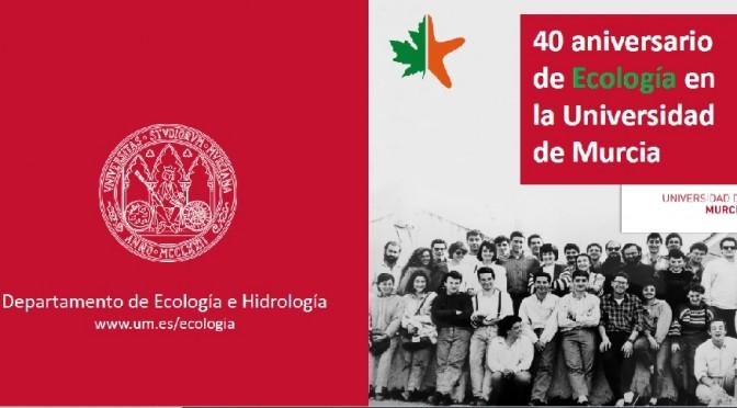 La enseñanza de Ecología cumple 40 años en la Universidad de Murcia
