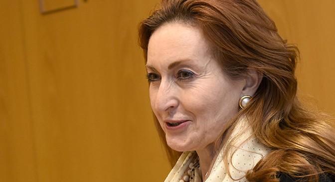 La profesora de la UMU María Trinidad Herrero toma posesión como presidenta de la Real Academia de Medicina y Cirugía