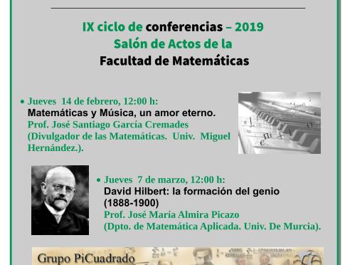 'Aspectos Históricos de las Matemáticas' en la Universidad de Murcia con Santi García Cremades
