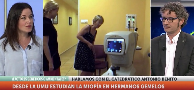 7 TV habla con el investigador Antonio Benito Galindo, profesor de la Facultad de Óptica y Optometría