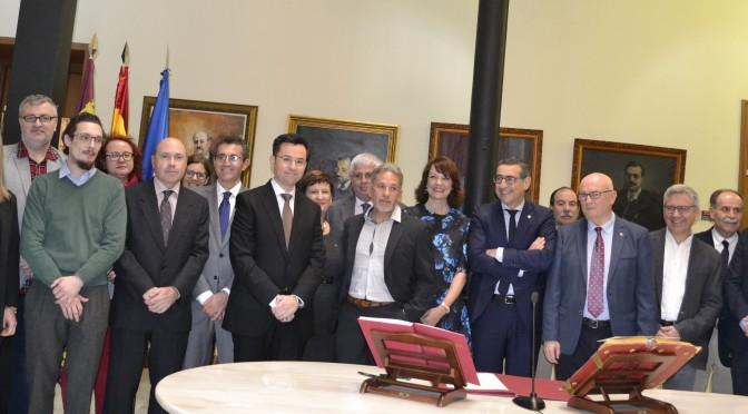 Diez docentes de la Universidad de Murcia toman posesión de sus cátedras y plazas de profesor titular
