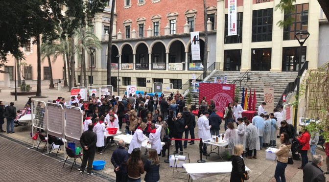 Trepidante final en la primera edición de MasterChem de la Universidad de Murcia