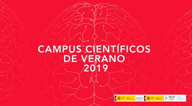 ¡Vuelven los Campus Científicos de Verano a la Universidad de Murcia!