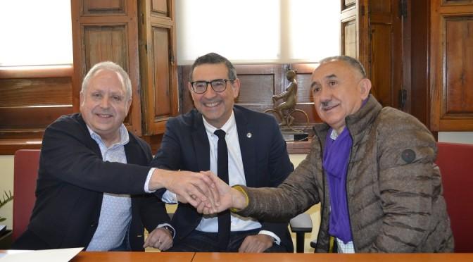 La Universidad de Murcia y UGT colaborarán en investigación y difusión de conocimientos sobre relaciones laborales