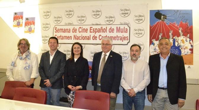La XXXI Semana de Cine español de Mula y el XXVI Certamen Nacional  de Cortos se presentan en el Rectorado de la UMU