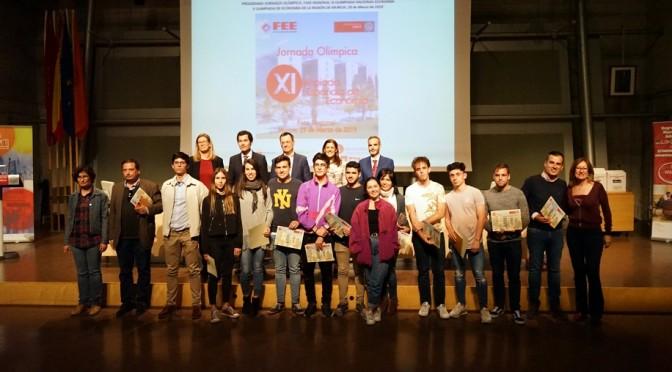 La Universidad de Murcia premia el talento de estudiantes de Secundaria en la X Olimpiada de Economía de la Región