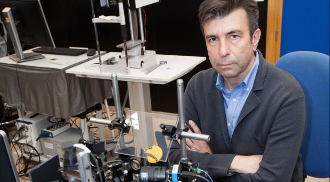 El profesor de la UMU Pablo Artal recibe el prestigioso premio Edgar D. Tillyer que concede la Sociedad Óptica