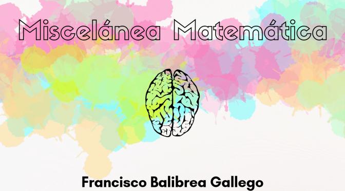 """Cartel conferencia """"Miscelánea Matemática"""". Foto: um.es"""