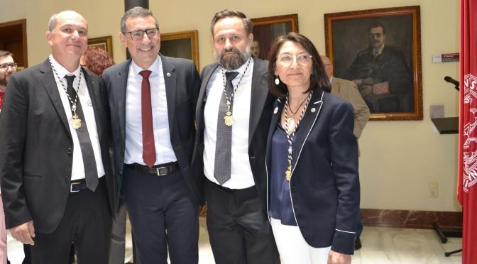Paloma Sobrado, Longinos Marín y Pedro Miguel Ruiz toman posesión como vicerrectores de la Universidad de Murcia