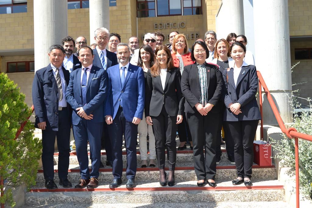 Foto de grupo. Foto: um.es