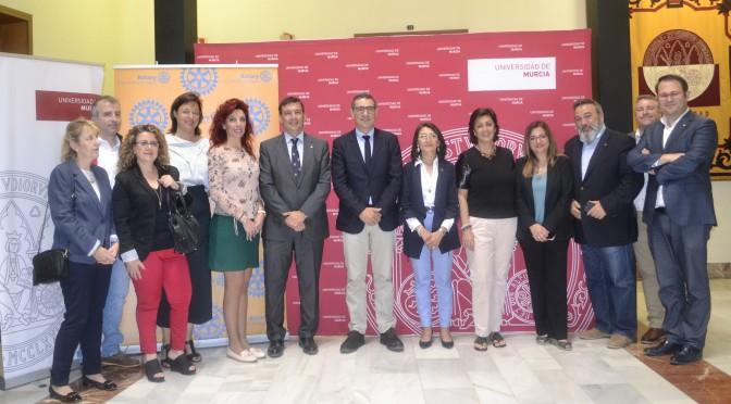 La UMU y Rotary Club Molina de Segura se alían para crear una aplicación para estudiantes con discapacidad