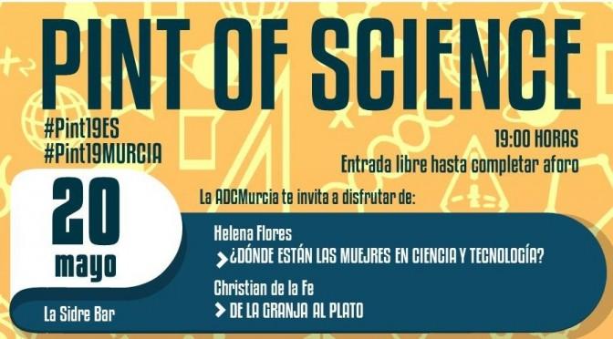 Investigadores de la Universidad de Murcia se van de bares con el Pint of Science
