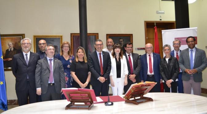 Ocho docentes de la Universidad de Murcia toman posesión de sus plazas de profesor titular
