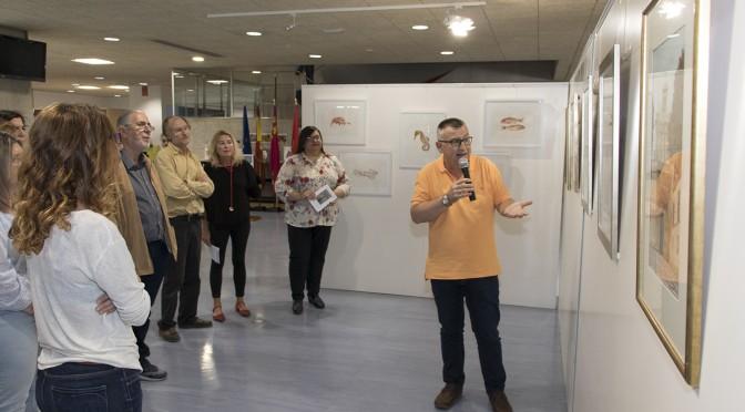 La Universidad de Murcia acoge una exposición del artista Juan Heredia