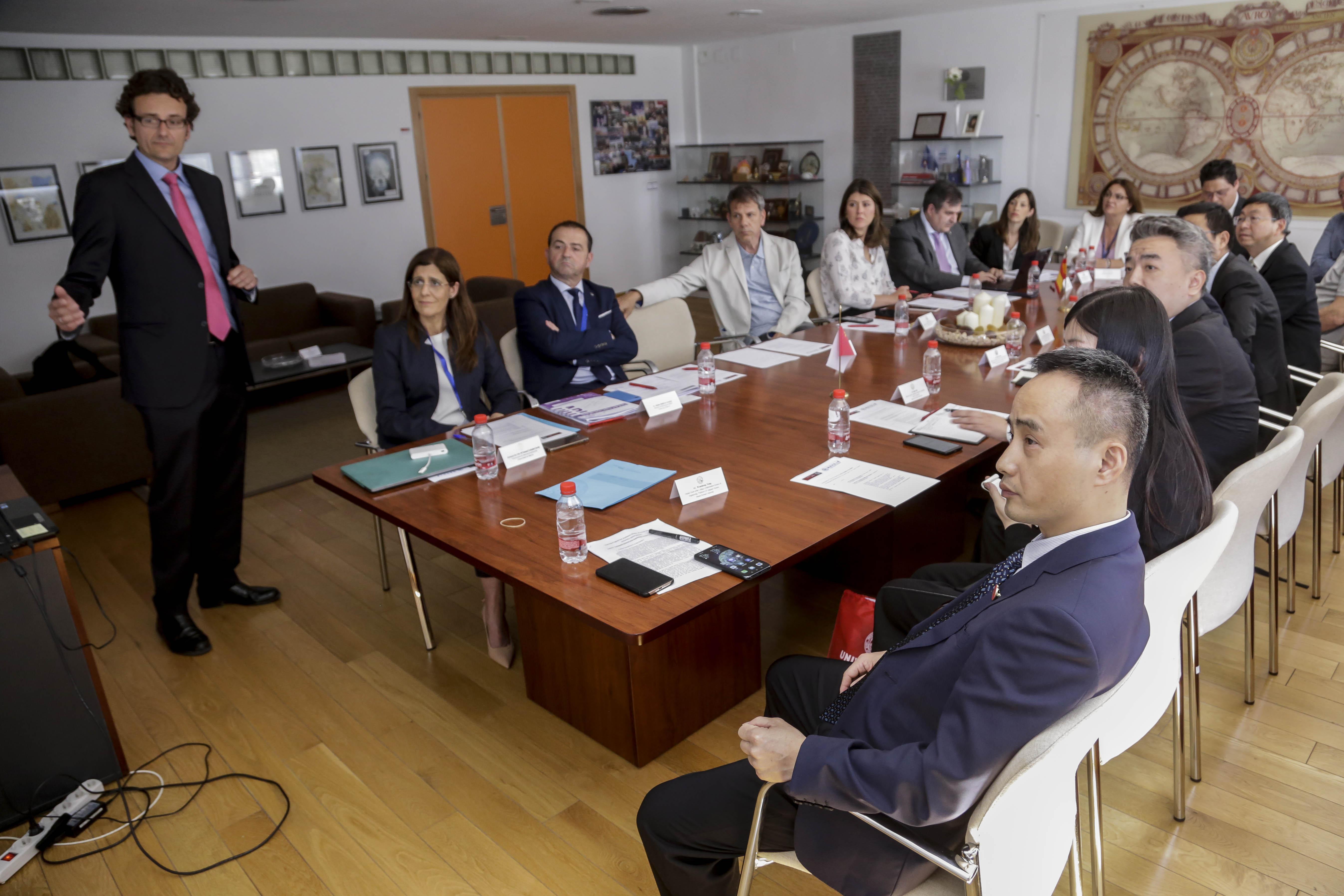 Delegación China. Foto: um.es