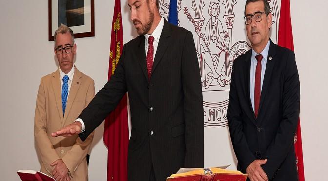 Toma de posesión del decano de la facultad de Ciencias del Deporte de la Universidad de Murcia
