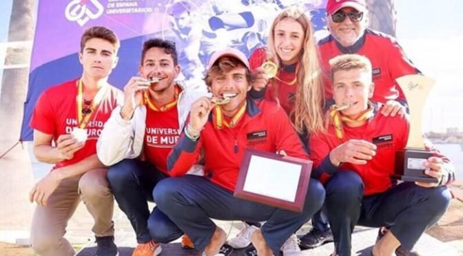 La UMU cierra su participación en los Campeonatos de España Universitarios con un éxito sin precedentes