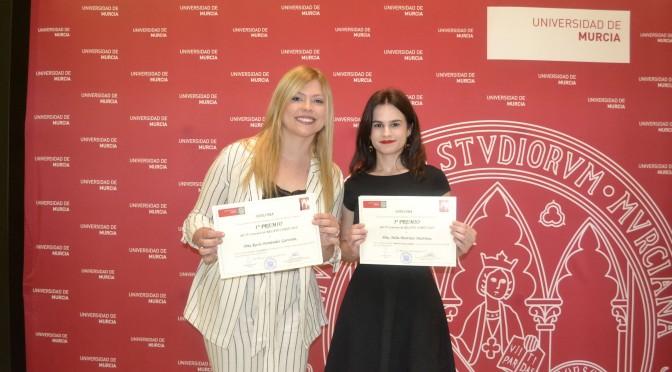 Tres alumnas de la Universidad de Murcia premiadas en el concurso de relato corto de la facultad de Enfermería