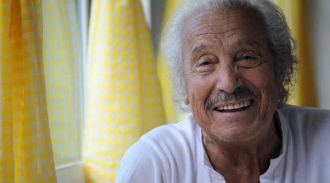 """""""No tuve la oportunidad de estudiar,  he aprendido en el escenario"""" (Manuel Zarzo, actor homenajeado en el festival de cine de Mula)"""