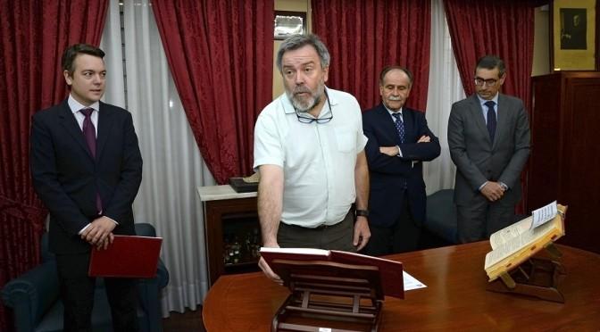Nacho Tornel toma posesión como nuevo vocal del Consejo Social de la Universidad de Murcia