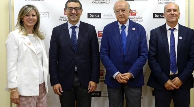 Bankia y Fundación Cajamurcia colaboran con la Universidad  de Murcia en el Proyecto ODSesiones