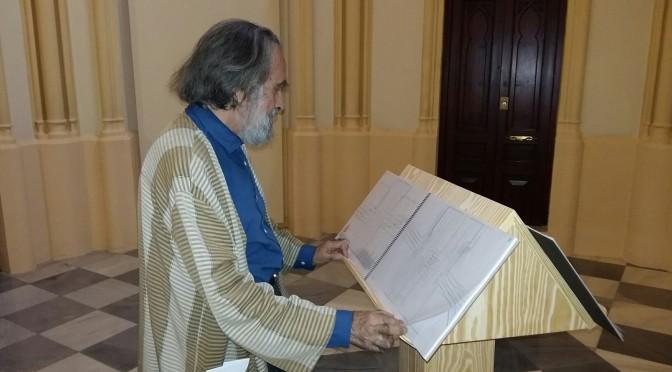 """Isidoro Valcárcel Medina, premio Velázquez de Arte, en la UMU: """"La valoración del arte no puede ser exclusivamente comercial"""""""