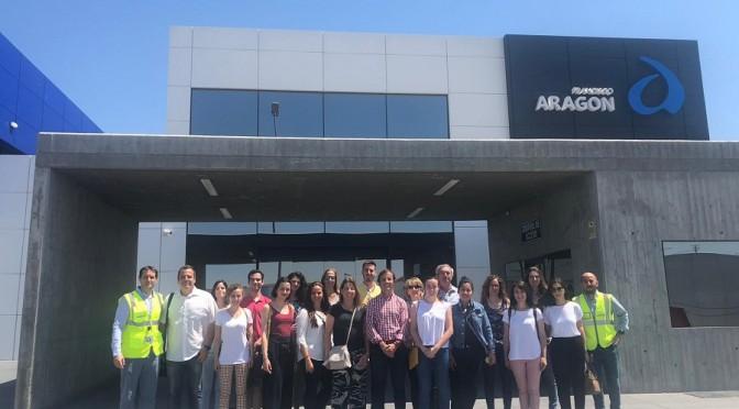 El proyecto de Turismo Empresarial de la UMU lleva a la comunidad universitaria a grandes empresas de la Región