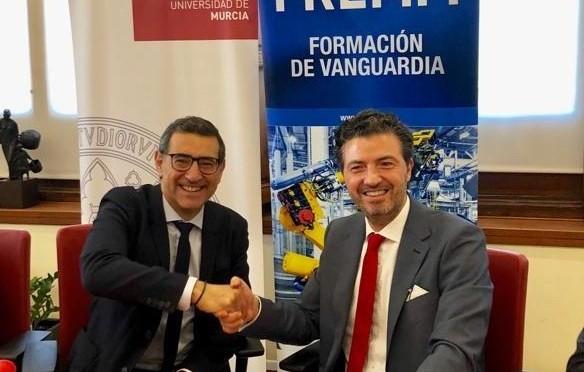 La Universidad de Murcia y FREMM acuerdan impulsar la formación y el empleo