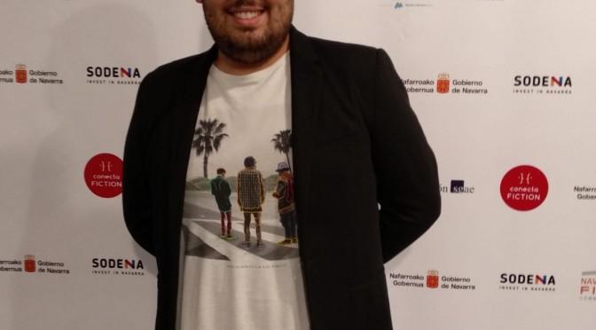 El estudiante de la Universidad de Murcia Borja Moreno, becado por la Fundación Antonio Gala para escribir el guión de una serie de televisión