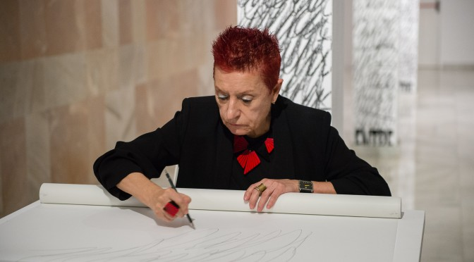 La artista Concha Jerez, Premio Velázquez de Artes Plásticas 2017, ofrece una conferencia en la UMU