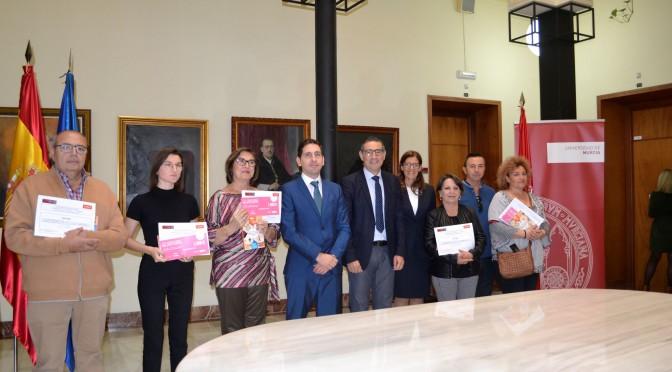 La Universidad de Murcia entrega los premios del décimocuarto concurso de relato corto Thader