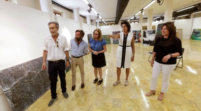 El artista Cristóbal Barbero gana el XIX premio de pintura de la Universidad de Murcia