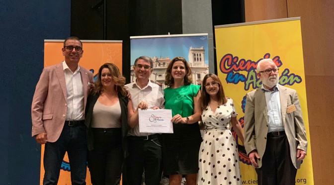 El certamen internacional Ciencia en Acción premia la labor divulgativa de la UMU