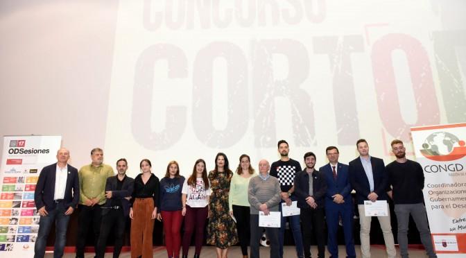 Estudiantes de la Asociación Casa Europa de Cehegín, Bullas y Calasparra se alzan con el premio regional en el certamen 'CortODS' de la UMU