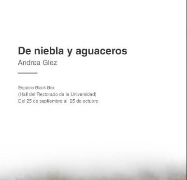 La Universidad de Murcia inaugura la exposición 'De nieblas y aguaceros' de Andrea Glez