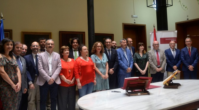 Toma de posesión de plazas de profesorado titular y cátedras de la Universidad de Murcia