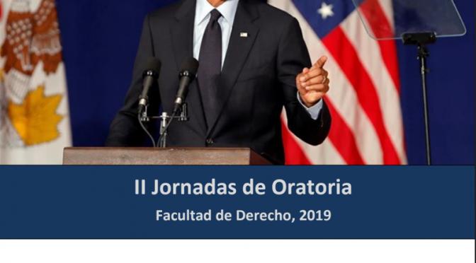 Jornadas de oratoria en la Universidad de Murcia