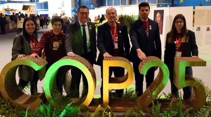 La Universidad de Murcia expone el proyecto ODSesiones en la COP25