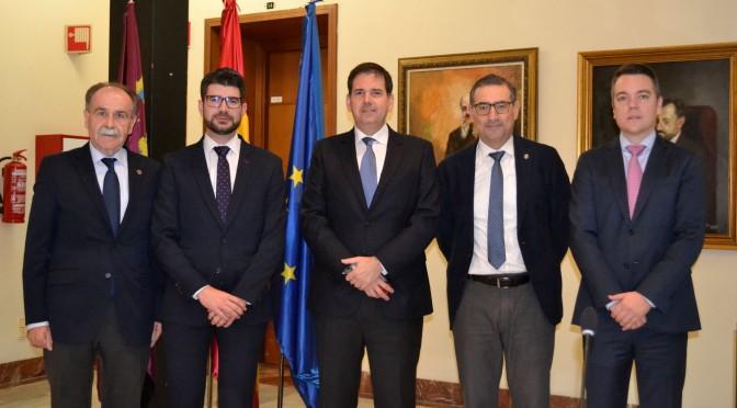 Toma de posesión de dos nuevos vocales del Consejo Social de la Universidad de Murcia