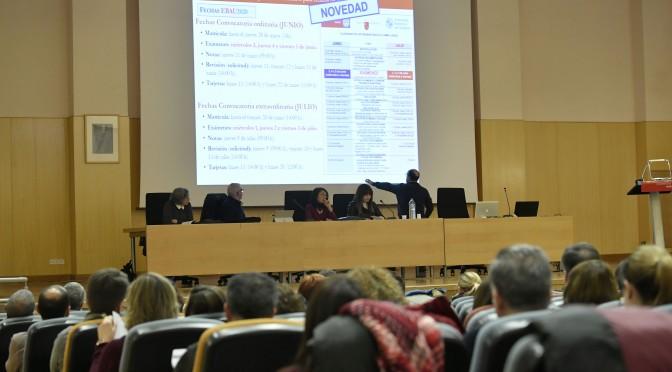 La Universidad de Murcia informa de las novedades de la EBAU a los institutos de Secundaria
