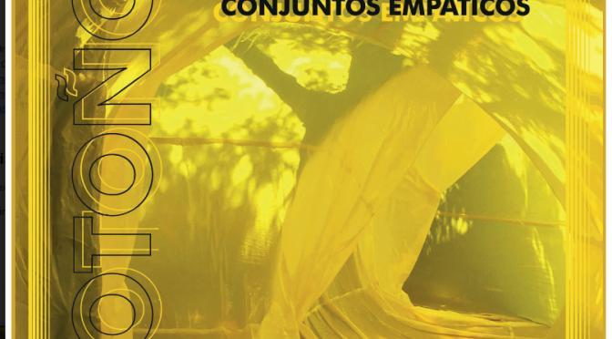 La Universidad de Murcia acoge una instalación que recrea atmósferas otoñales