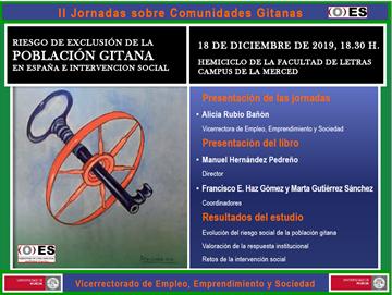La Universidad de Murcia organiza las segundas jornadas sobre comunidades gitanas