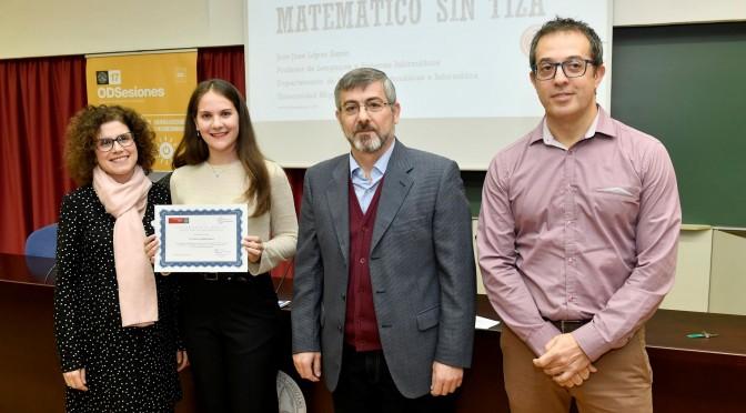 La Universidad de Murcia entrega los premios del concurso de fotografía de ODSesiones sobre energías renovables
