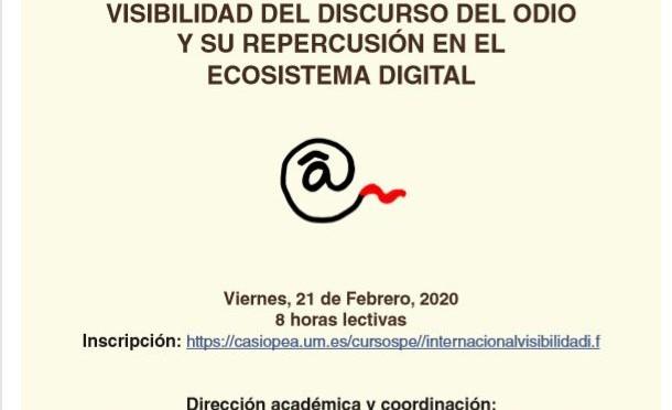 La Universidad de Murcia celebra este viernes una jornada a analizar el discurso del odio en redes sociales