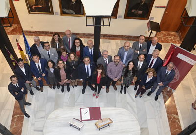 Toma de posesión de docentes de la Universidad de Murcia