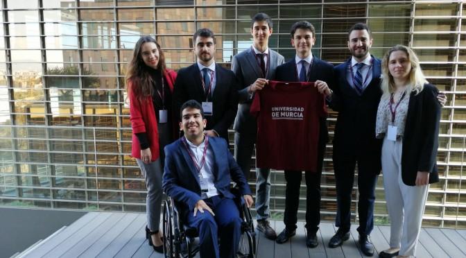 Estudiantes de Derecho representan por segunda vez a la UMU en un concurso de Derecho Internacional Público