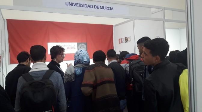 La Universidad de Murcia participa en la IV Feria Estudiar en España que se organiza en Marruecos
